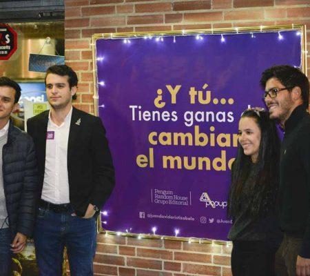 Lanzamiento Libro Todos Podemos Cambiar el Mundo - Bogotá Teatro Cinemanía