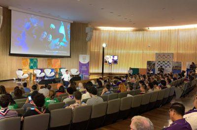 Conferencias de Juan David Aristizábal - World Scout Bureau
